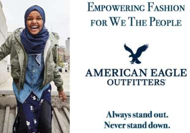 American Eagle Outfitters ad